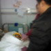 Champo in the Xining Hospital