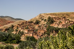 A Berber village enroute to the Atlas Mountains (Shelbypoppit) Tags: life africa street city light portrait mountains landscape photography interesting cityscape market muslim spice working culture mosque morroco camel busy maroc atlas marrakech souk medina marrakesh souks smelly marroc riad low cinamon peaple kniza light north africa
