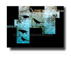 The Birds copyright Ann Powell (annpowellart) Tags: abstract modern abstractart contemporary modernart fineart wallart fi abstracts annpowell annpowellart