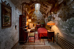 Home Sweet Home (cup4tml) Tags: pennsylvania cell prison luxury alcapone crumbling easternstatepenitentiary deteriorate doughagadorn