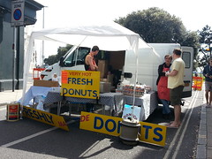Fresh Donuts (PD3.) Tags: road uk england holiday castle love coffee shop pie toys market may bank hampshire jewellery peter portsmouth sweets antiques handbags association southsea viny sellers traders maybankholiday hants