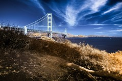 Infrared Photography, Golden Gate Bridge San Francisco, California (josecarlo1129) Tags: infraredphotographynikontokina1116mmhoyar7277d300gripmanforttotripodballheadtravelssunsetsunriselandscapesapplemacbookpro15293
