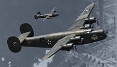 Raid on Ploesti (Ken's Aviation) Tags: texas airshow consolidated caf liberator midland b24 airsho commemorativeairforce confederateairforce ol927 polesti