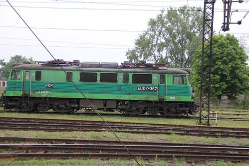 PKP EU07-367 , Głogów train station 18.05.2013