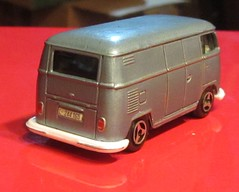 IMG_7656 (our78bus) Tags: bus vw volkswagen panel low wheels screen van majorette lowered matchbox spilt transporter redo repaint