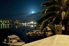 NOTTURNO E LUNA SU LUNGO MARE (DISAMISTADE_my life is a reportage!) Tags: moon mare luna nocturne notturno brindisi