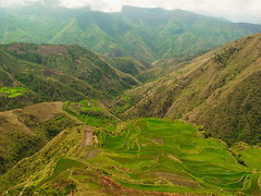 Rice terraces at Buscalan village, Kalinga province, North Luzon, Philippines