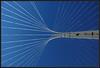 The Lute, bridge by Calatrava (Ciao Anita!) Tags: bridge detail netherlands canal nederland ponte calatrava kanaal brug lute olanda santiagocalatrava canale hoofddorp noordholland dettaglio haarlemmermeer hoofdvaart bluestblue luit liuto theunforgettablepictures theperfectphotographer