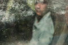 I'll be your mirror (Vasilis Amir) Tags: portrait blur reflection window rain drops transparency transparent  mygearandme mygearandmepremium vasilisamir