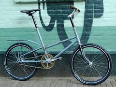 Henry's Custom Gazelle Kwik Step 1 (@WorkCycles) Tags: bike bicycle project henry hotrod custom gazelle folding fiets duraace vouwfiets kwikstep workcycles deelfiets