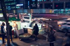 DSC00502 (Nigel Cooper*) Tags: motion blur south korea busy friday hongdae sonyrx1