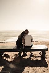 adorn (jedpinoy2323) Tags: love beach happy engagement couple sandiego scenic streetphotography romance cuddle pointloma photoftheday sonynex sonynexf3
