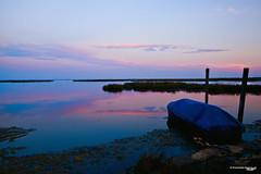 Lagoon sunset (Emanuele Usicco - www.emanueleusicco.it) Tags: venice sunset color colors landscape boat barca tramonto nuvole barche laguna acqua venezia colori riflessi artistico leggerezza veneto venisce