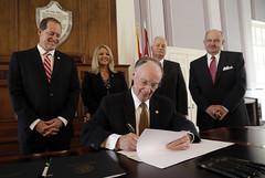 08-05-13 Gov. Bentley holds Signing Ceremony for Prescription Drug Abuse and Diversion Bills