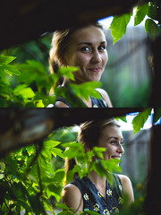 Back to the countryside (DastanHardcoreguy) Tags: sunset sun girl beauty smile fashion lens fun model village country hipster style turbo blond zhongyi focal reducer kostanay mitakon speedbooster metabones