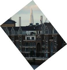 Battersea Reach, London (GothPhil) Tags: chimney england london thames architecture buildings river riverside august battersea shard 2013 molasseshouse