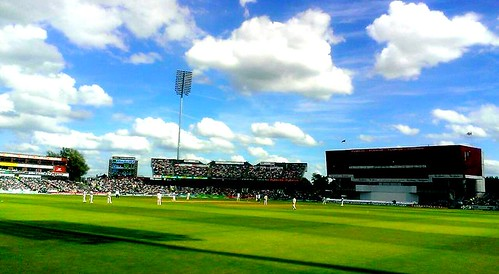 Old Trafford in an Ashes Test