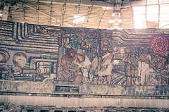 _D7K7836 (ari-) Tags: travel monument yellow nikon europe forrest decay neglected sigma ufo communism backpack eastern arild easterneurope barka 1850mm 2013 communistbuilding buzludzha arildbarka