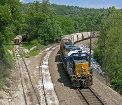 Tip Toe (ahall4370) Tags: trains railroads csx crr gp382 clinchfield