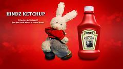Hindz Kethcup (ZackRabbit) Tags: rabbit bunny animal toys stuffed plushies stuffedanimals cookinwifrabbitsads