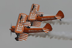 Breitling Wing Walkers (Explored 261 18/9/2013) (John Ambler) Tags: tattoo air wing royal international fairford riat breitling 2013 walkersat
