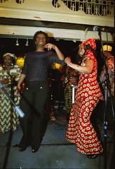 Gifty NaaDK from Ghana Etome with Sopie from Cte d'Ivoire Dancing at the Africa Centre London March 2001  074 (photographer695) Tags: gifty from ghana africa centre mar 2001 083 sophie dancing naadk etome with sopie cte divoire london march