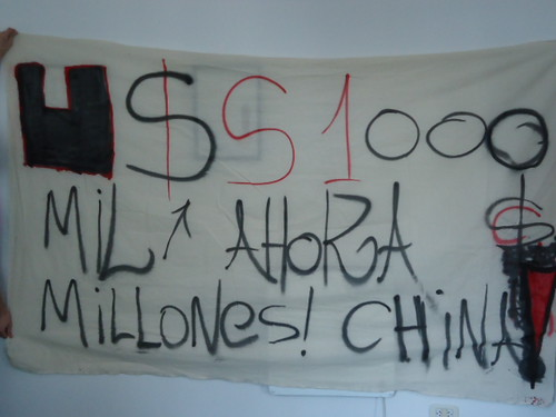 Argentina: China Global Fund Protests