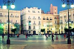 Plaza San Antonio (poco76) Tags: plaza city espaa spain place ciudad cdiz ville cadix