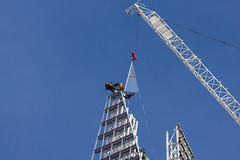 topping the shard 4 (ben veasey) Tags: london londonbridge construction skyscrapers theshard