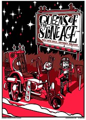 Queens Of The Stone Age Gig Poster (Seprello) Tags: stone poster gig belfast queens age jacknife sepr