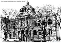 Porto Alegre Faculdade de Direito da UFRGS déc1970