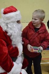 Santa with C