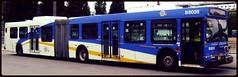 B8028 (Juan_M._Sanchez) Tags: new canada bus public station vancouver flyer loop columbia 1999 stop transit british translink exchange nfi d60lf cmbc