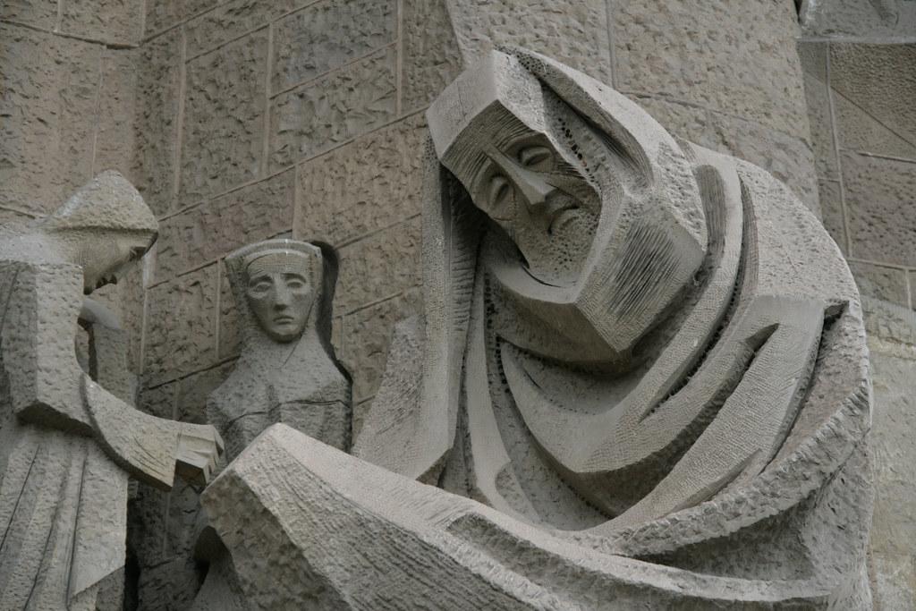 Détail de la Sagrada Familia