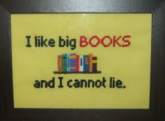 I like big books and I cannot lie (Quigleys) Tags: game silly me scotland big funny crossstitch pattern embroidery crafts like free scottish books meme lie totoro howto hate cannot pikachu pokemon bo crafty neighbour roar gonna tutorial hear burnham thrones haters humourous stitchy lannister neighbout