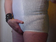 In my Playtex All-in-one girdle (DONNYB-UK) Tags: allinone girdle playtex corselette 18hour