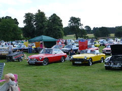 Thoresby Hall Classic Car Show 2013 (Stag Owners Club) Tags: aug