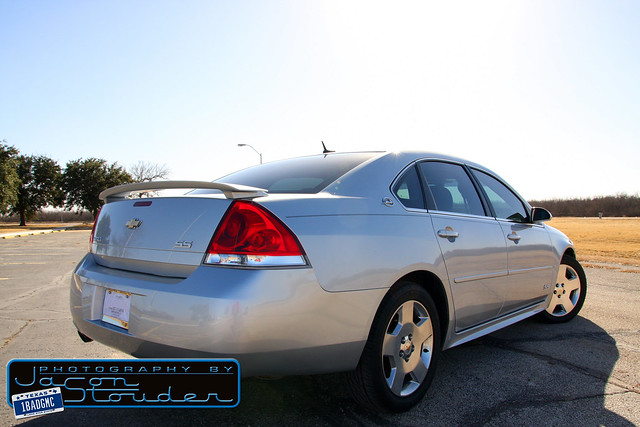 chevrolet sedan ss chevy impala 2009 supersport