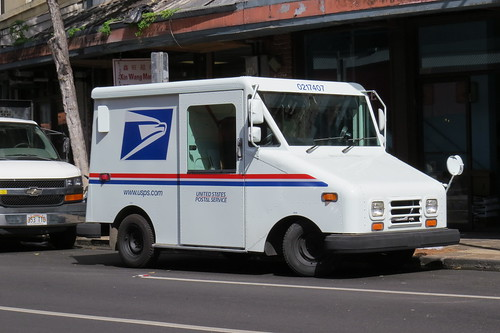 Postal Service Truck, From InText