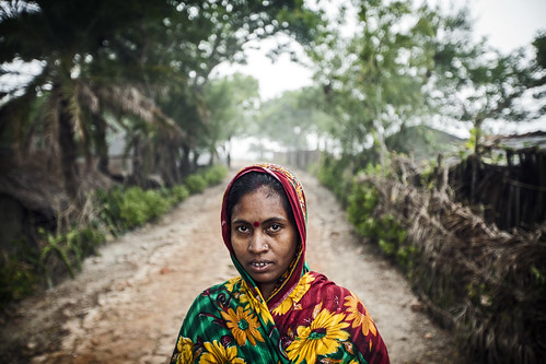 A woman in Bangladesh. Photo by Felix Clay/Duckrabbit.