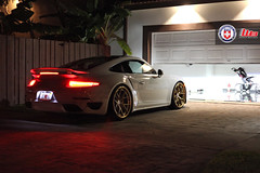 Porsche 991 Turbo S on HRE S101 (wheels_boutique) Tags: canon photography miami turbo porsche carrera hre turbos hrewheels s101 satingold brushedgold wheelsboutique teamwb 991tt
