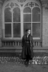 Minni (jannaheli) Tags: bw window beautiful fashion suomi finland design blackwhite women brickwall vantaa mv ikkuna nainen kaunis muotoilu muoti mustavalkoinen strobist tiiliseinä valaisu nikond3100