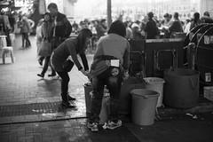 Temple Street, Hong Kong /  (kelvintkn) Tags: street leica people bw night digital hongkong 50mm blackwhite asia sony jordan fullframe summilux manualfocus primelens mirrorless a7r leicasummiluxm50mm sonyphotography emount