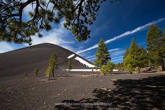 Cinder Cone (baddoguy) Tags: california usa tree pine nationalpark cone cinder lassenvolcanic