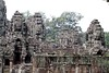 Bayonian Smiles in Group on the Left Wings of Bayon Temple (Patumraat) Tags: thailand temple ancient asia cambodia ruin empire siem thom civilization angkor wat invasion asean ayudhaya reab khmehr