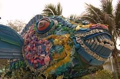 Trash-Sculpture Fish 1