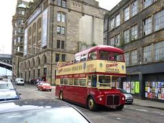 Mac Tours AEC Routemaster, VLT 242 (miledorcha) Tags: park holiday bus buses vintage scotland mac edinburgh tour open top royal tourist routemaster tours partial lothian psv pcv guided rm aec opentopper vlt242 rm242 erm242