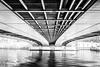 Un pont, c'est tout !! (Explore) (RVBO) Tags: paris alma nb pont graphisme fujix100s
