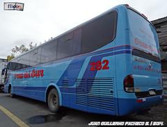 Marcopolo Viaggio G6 1050   Mercedes Benz O-500RS   Cruz del Sur.- (Buses en Chile   Juan Guillermo Pacheco) Tags: viaggio marcopolo cruzdelsur