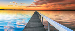 L O N G  J E T T Y (Kash Khastoui) Tags: wood sunset k 50mm coast long pano jetty central entrance australia nsw panaromic 6d the kash khashayar kashayar f12l